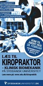 Kiropraktor, kiropraktik, sportskiropraktor
