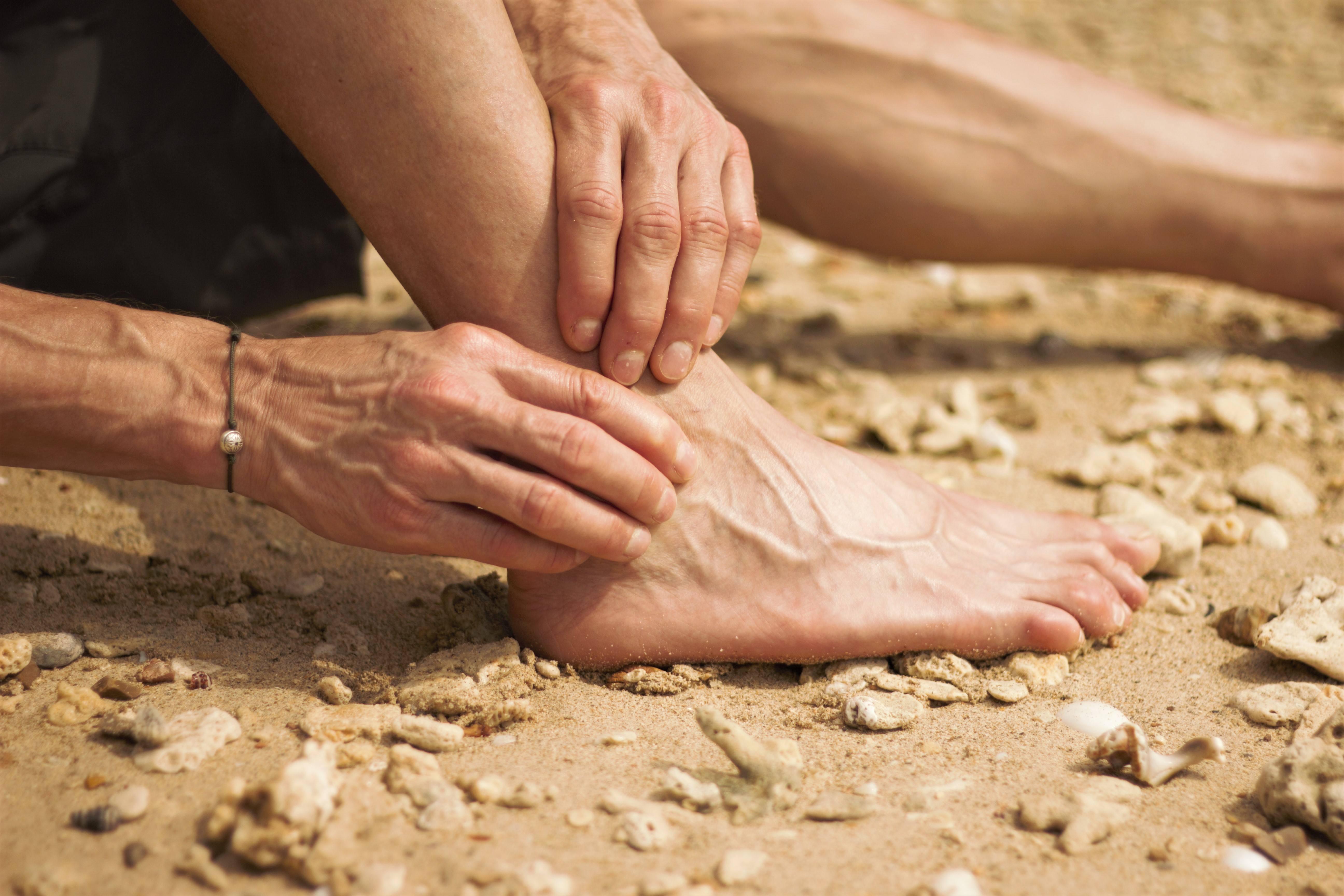 Ultralydsscanning af ankel og fod