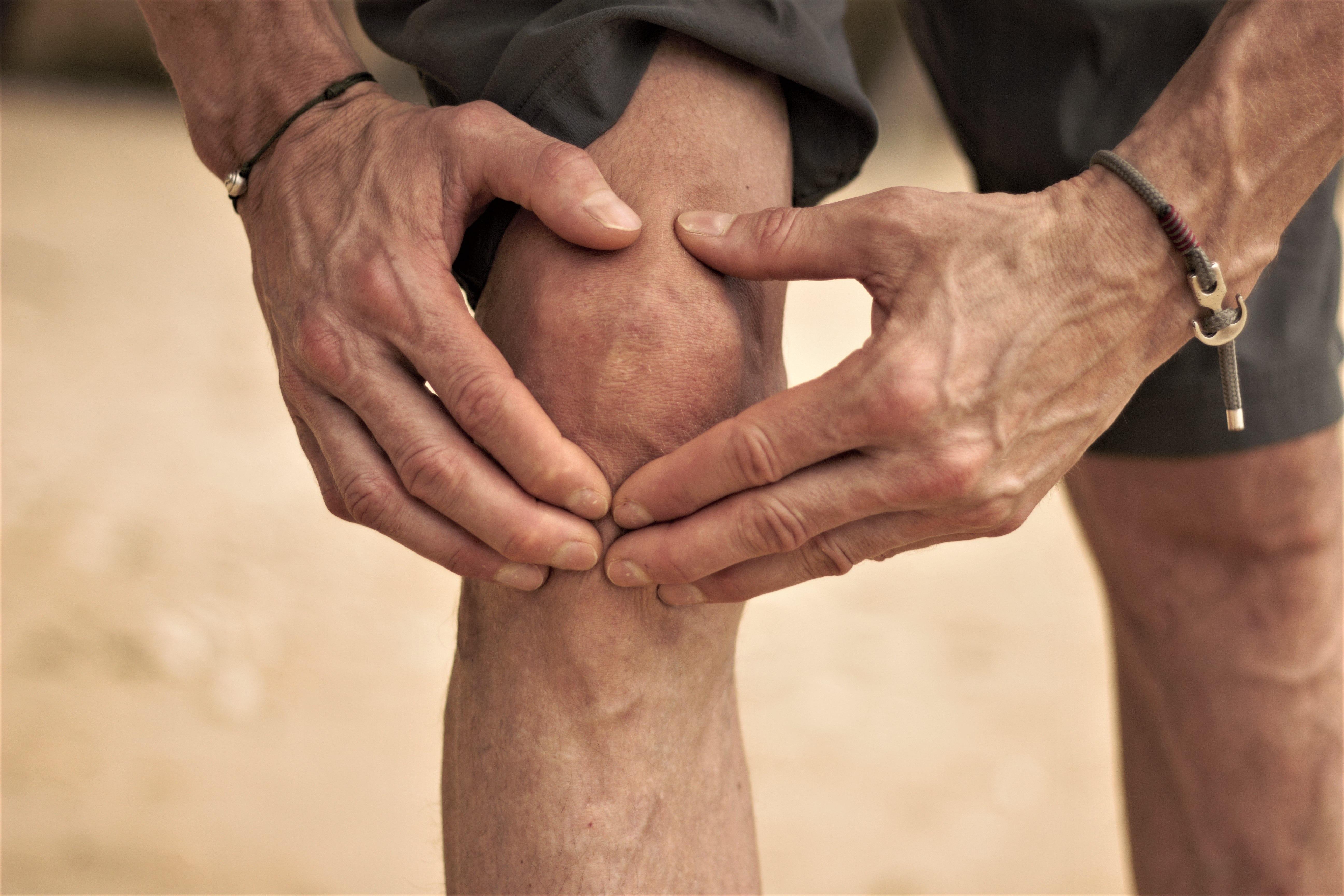 Ultralydsscanning af knæ