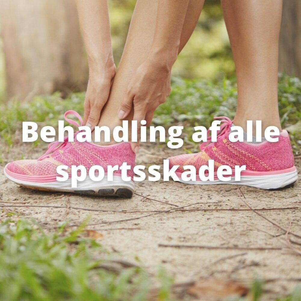 Behandling af alle sportsskader